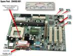Motherboard (system board), Loretto, for Intel Celeron processors - Does not include processor NO LONGER SUPPLIED