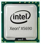 Intel Xeon Six-Core processor X5690 - 3.46GHz (Max Turbo Frequency 3.73GHz, 1333 MHz memory, 12MB Intel Smart Cache, 130W max TDP)