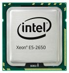 Intel Eight-Core 64-bit Xeon E5-2650 processor - 2.0GHz (Sandy Bridge-EP, 20MB Cache, Intel QPI Speed 8.0 GT/s, 95W TDP (Thermal Design Power), FCLGA (Flip-Chip Land Grid Array) 2011 socket))