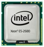 Intel Eight-Core 64-bit Xeon E5-2680 processor - 2.70GHz (Sandy Bridge-EP, 20MB Cache, Intel QPI Speed 8.0 GT/s, 130W TDP (Thermal Design Power), FCLGA (Flip-Chip Land Grid Array) 2011 socket))